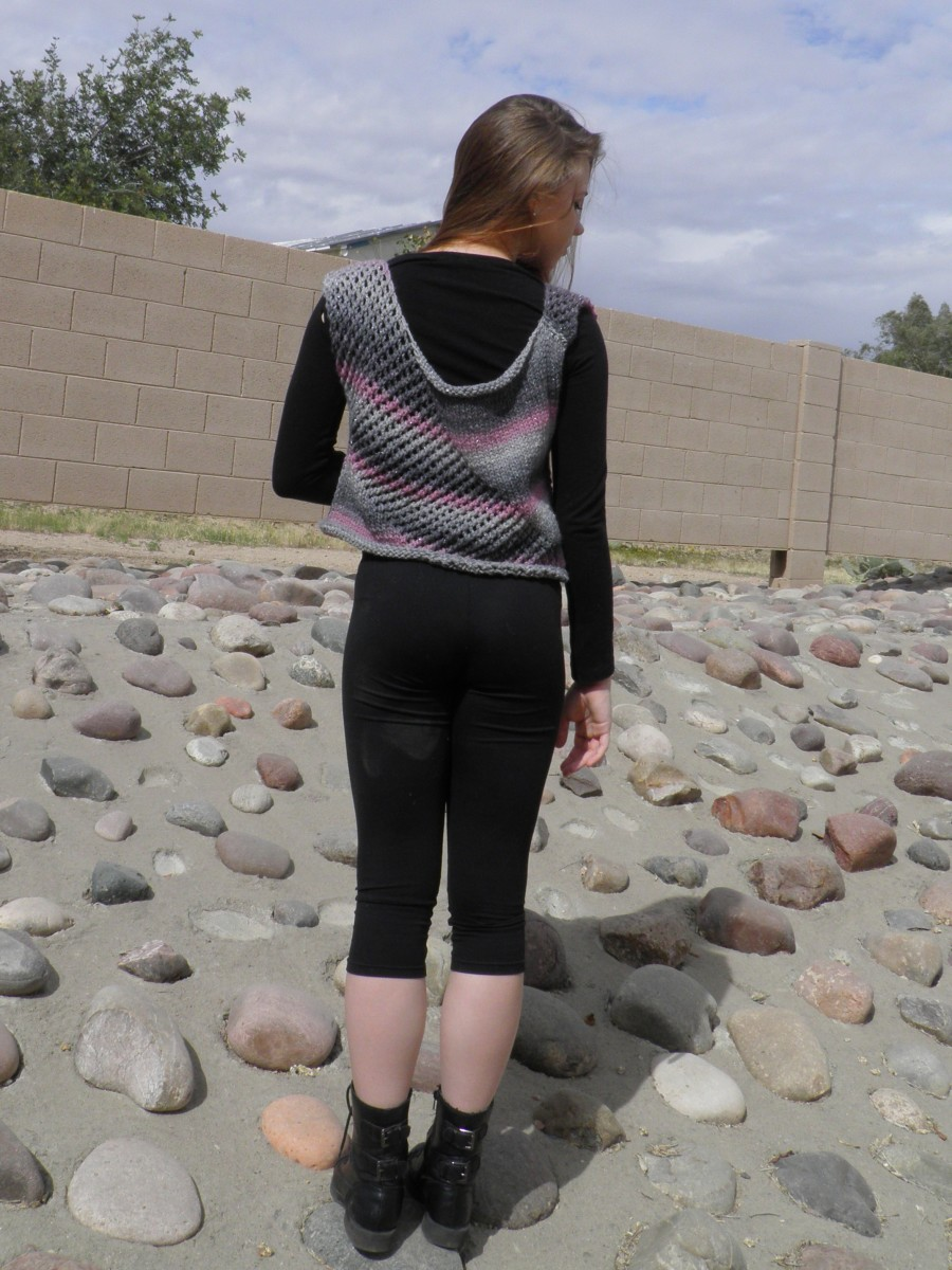 """""""Teen"""" Vest by Emese Fromm"""