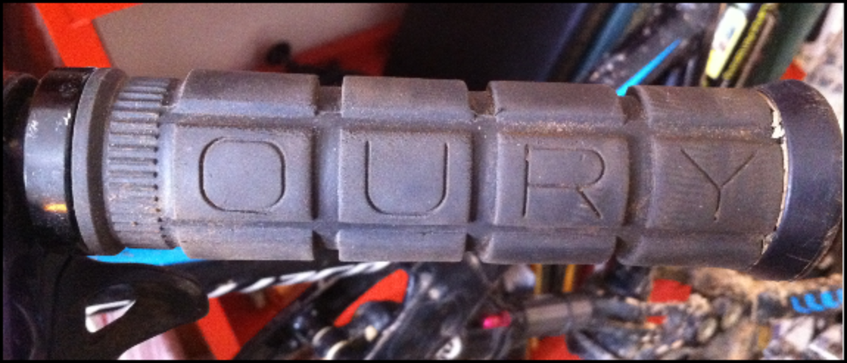 Oury bolt on grips are an affordable, and highly useful, gift for mountain bikers.