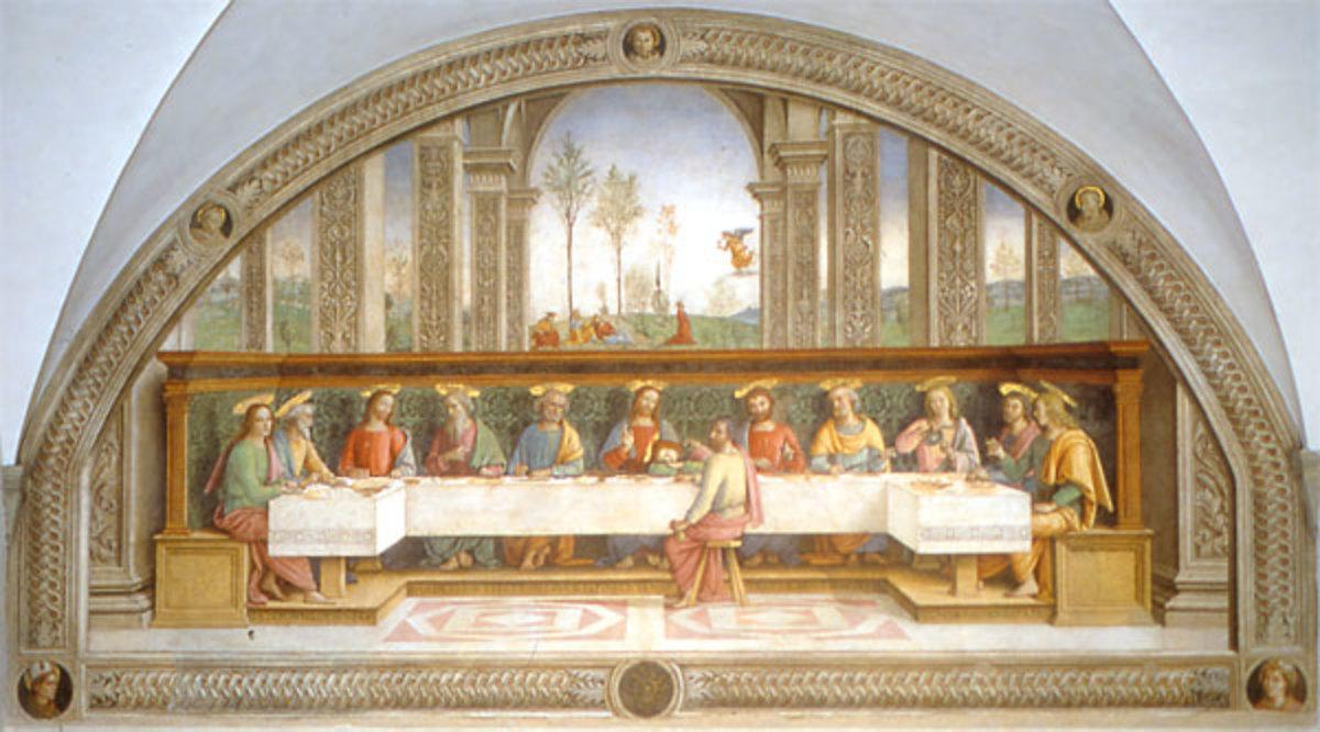 Perugino, Cenacolo of Fuligno (1485), Florence