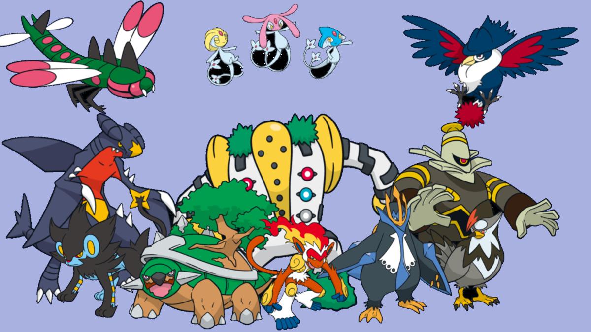 Generation 4 Pokemon