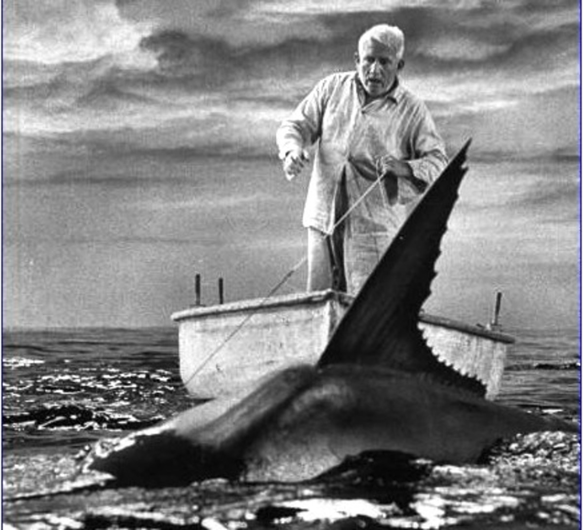 Spencer Tracy in The Old Man and sea movie