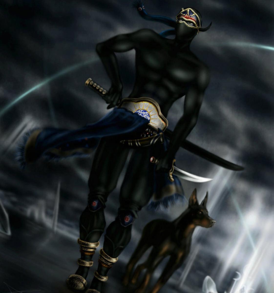 Shadow and his companion Interceptor