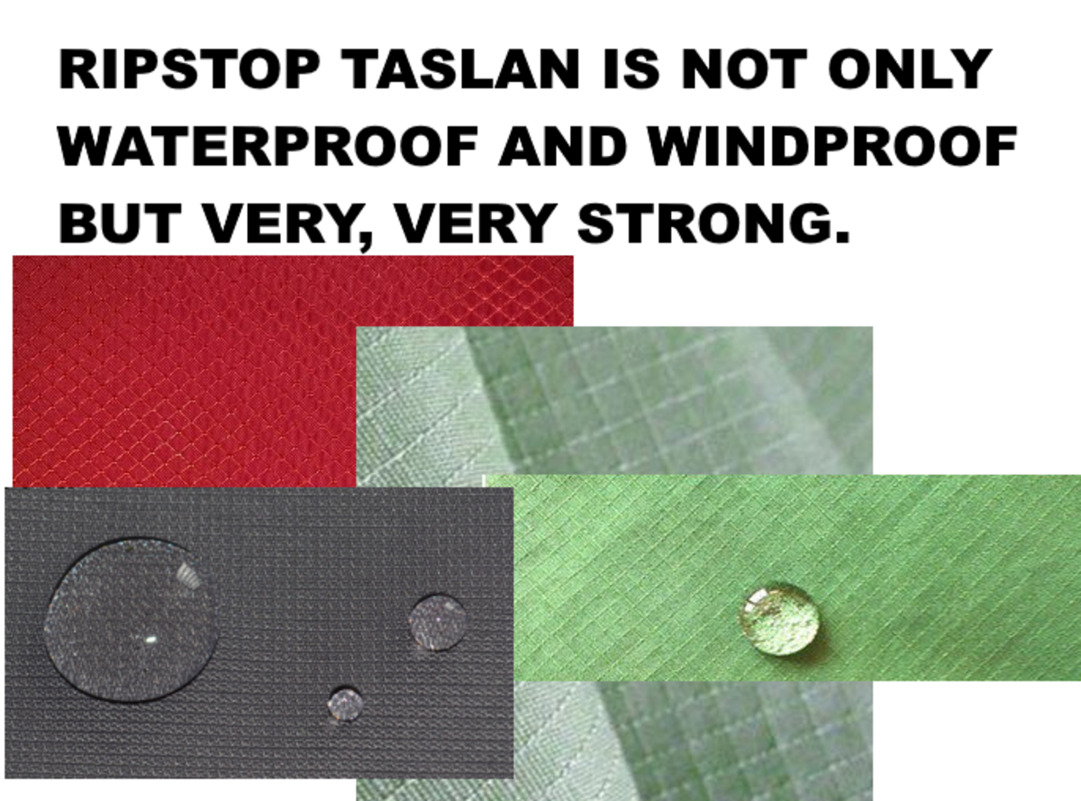 By using a particular weave, extra strong threading is introduced. This makes Taslan Ripstop a very robust material for items like bags and other hardwearing requirements.