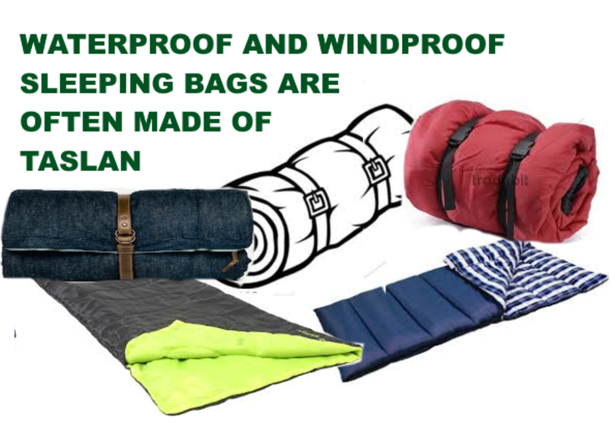 Sewing (or Camping) Best Waterproof Fabric for Making Raincoats, Sleeping Bags, and Keeping Warm in Winter.
