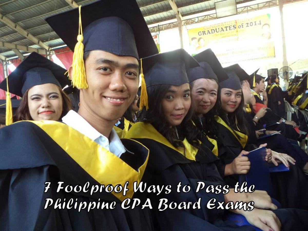 Graduation of DFCAMCLP Accountancy Students,  School Year 2014 will be taking up the CPA Board Exams a few months after graduation.