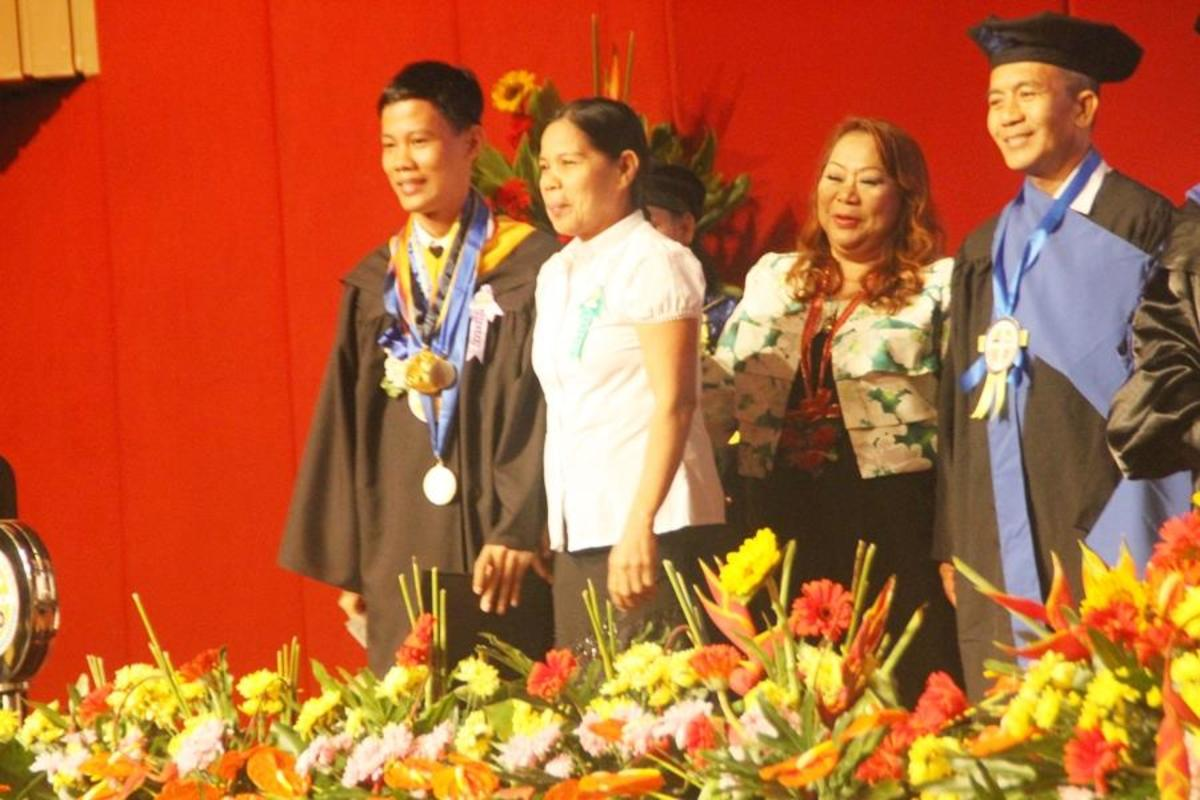 Marcelino Salazar BA graduate, Cum Laude, 2014 of Lyceum of Alabang. Will be taking up the CPA Board Exam on May 2015