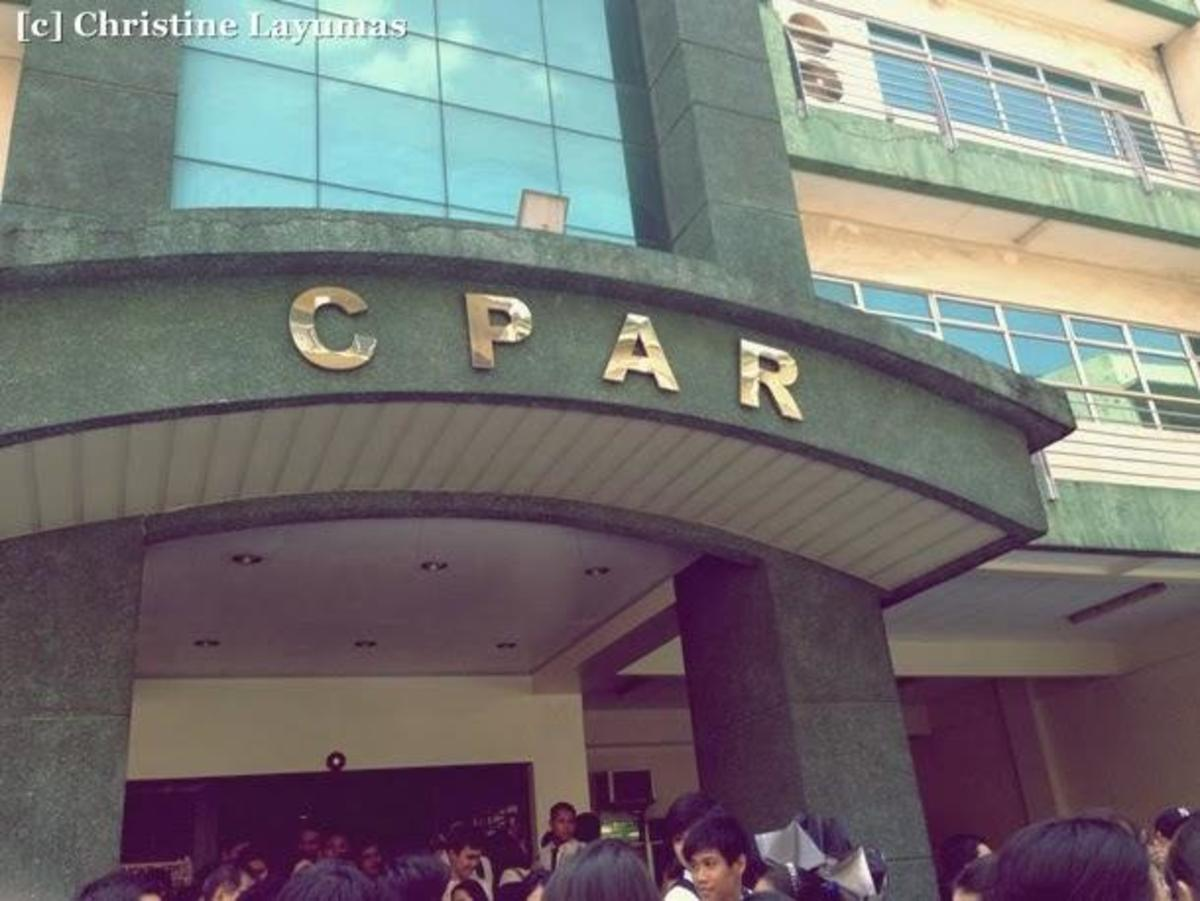 CPAR is one of the oldest review centers for CPA's which is based in Manila City.