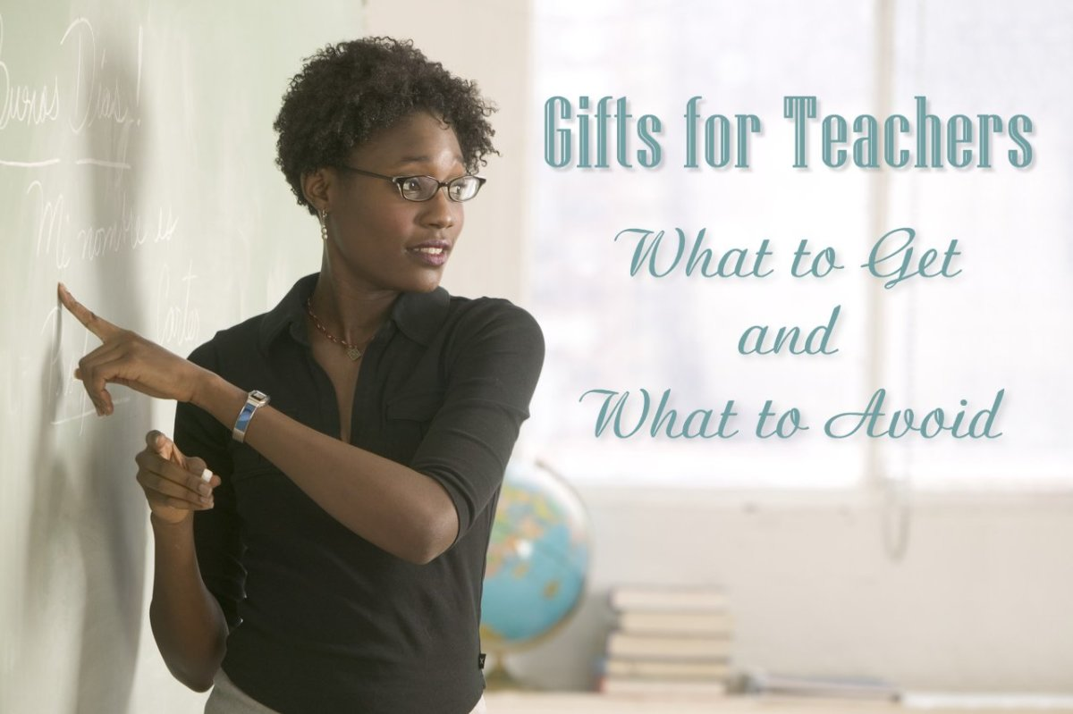 Gifts for Teachers: What to Get and What to Avoid