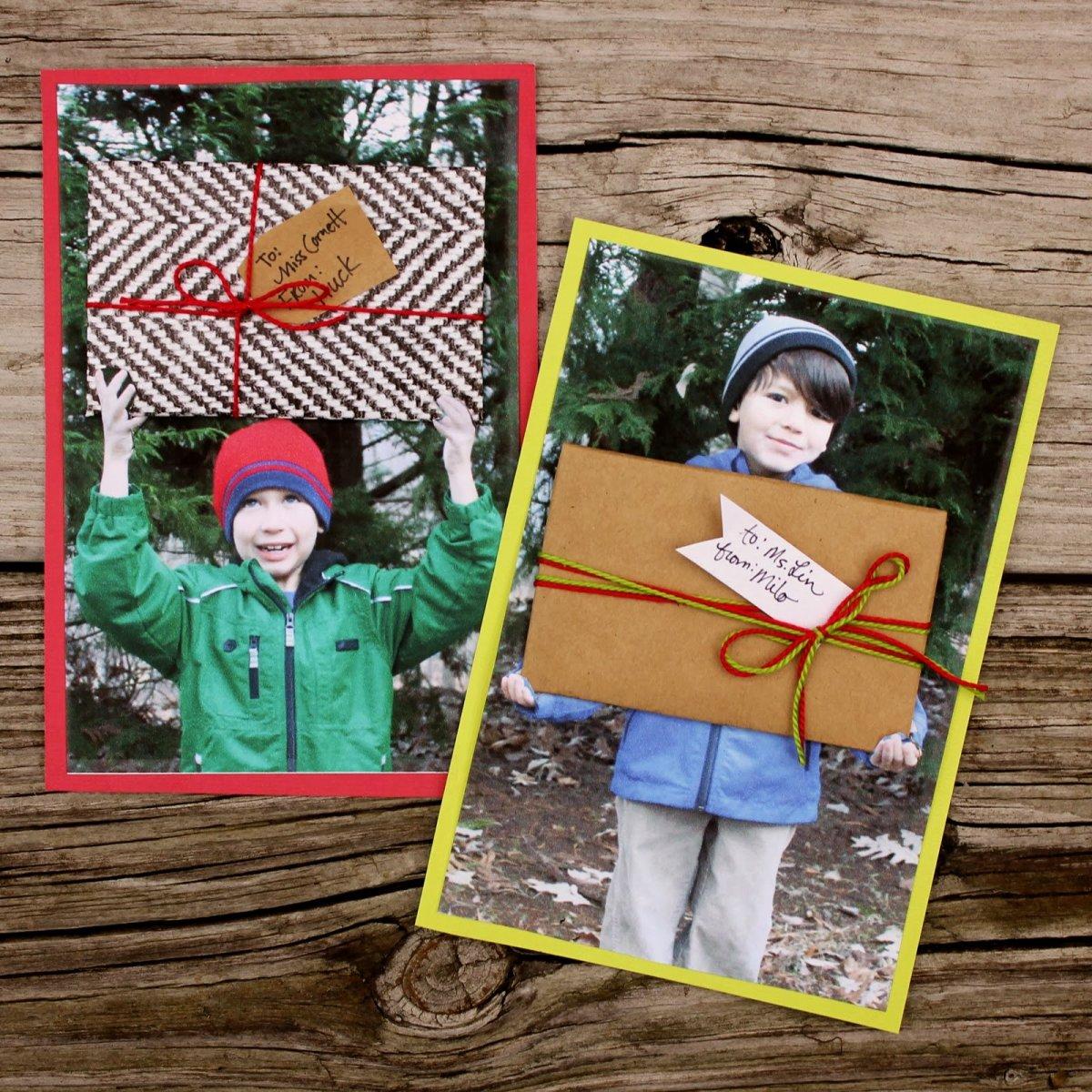 Creative idea for presenting a gift card to a teacher.