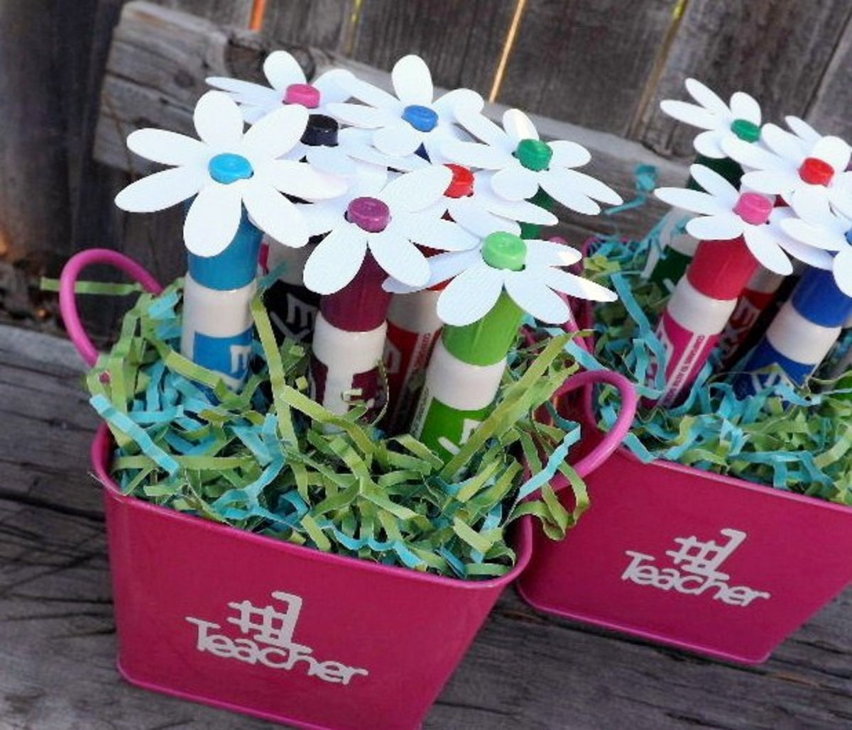 A bouquet of dry-erase markers will always come in handy in the classroom.