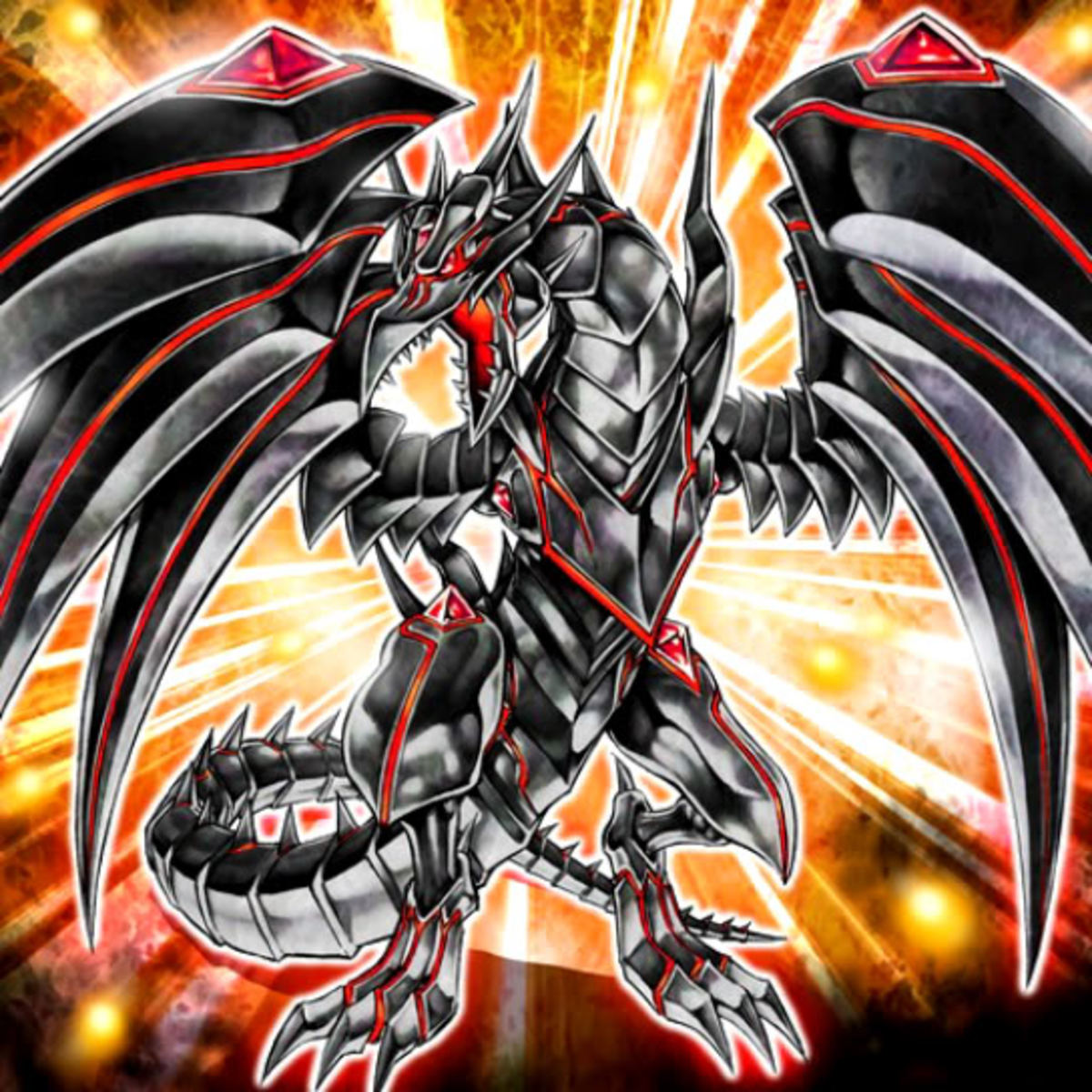 Red Eyes Darkness Metal Dragon