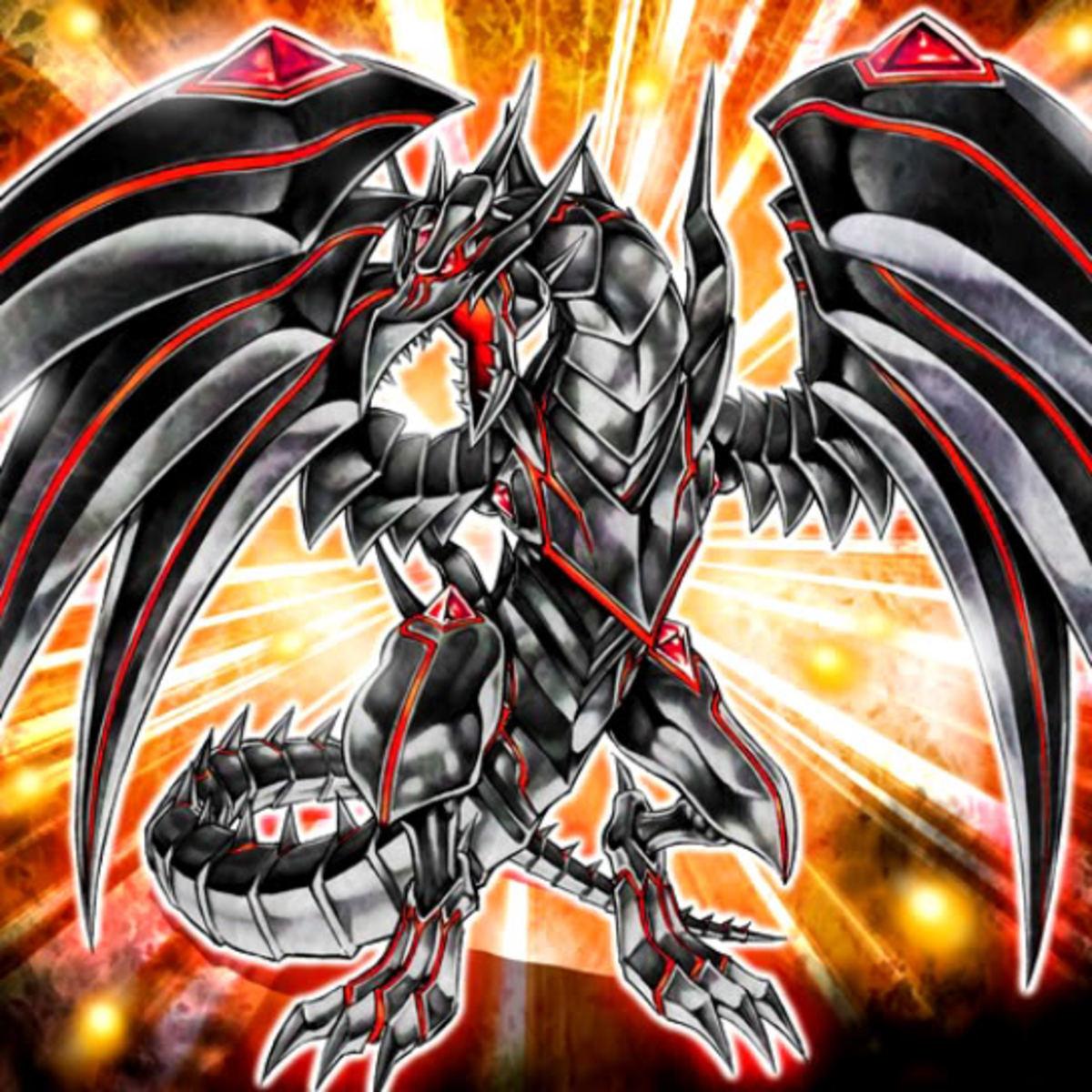 Red Eyes Darkness Metal Dragon