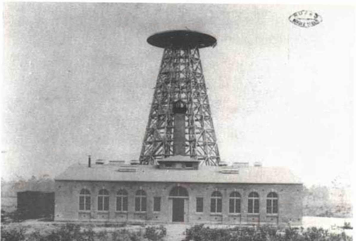 Transmitting Tesla Tower and Laboratory in Wardenclyffe, Long Island