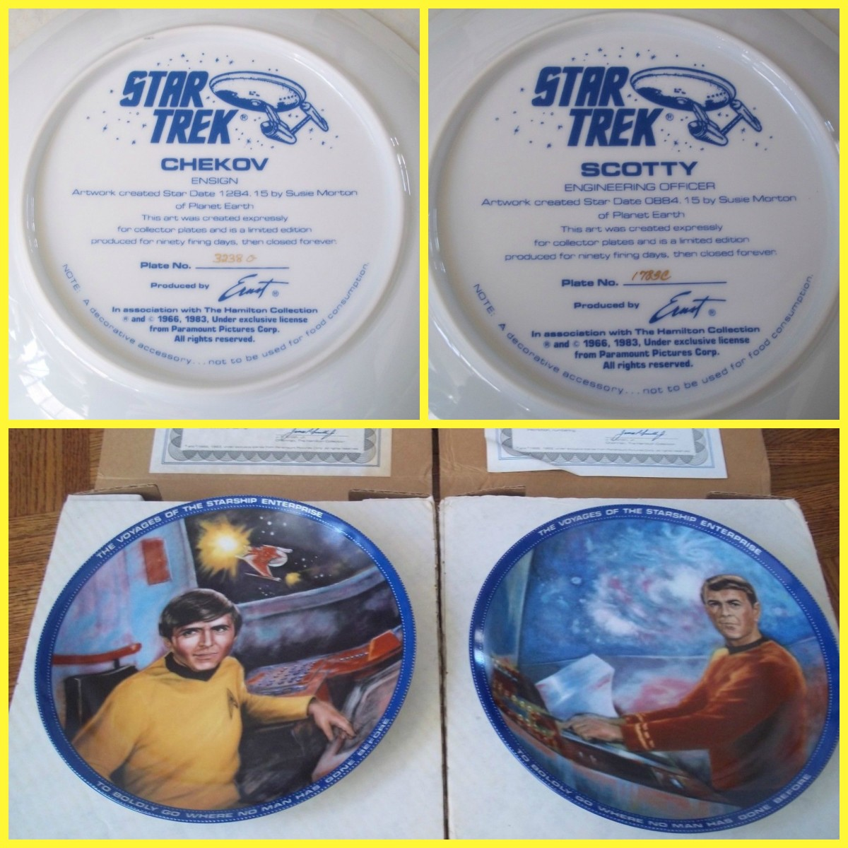 collecting-star-trek-limited-edition-collector-plates