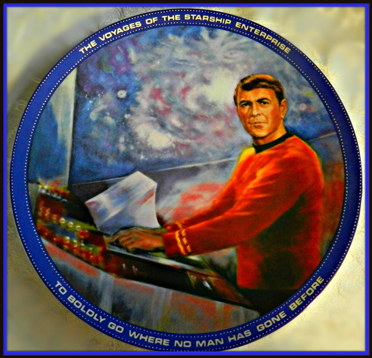 """The late actor James Doohan truly had became """"Scotty"""" to millions of """"Star Trek"""" enthusiasts all over the world."""
