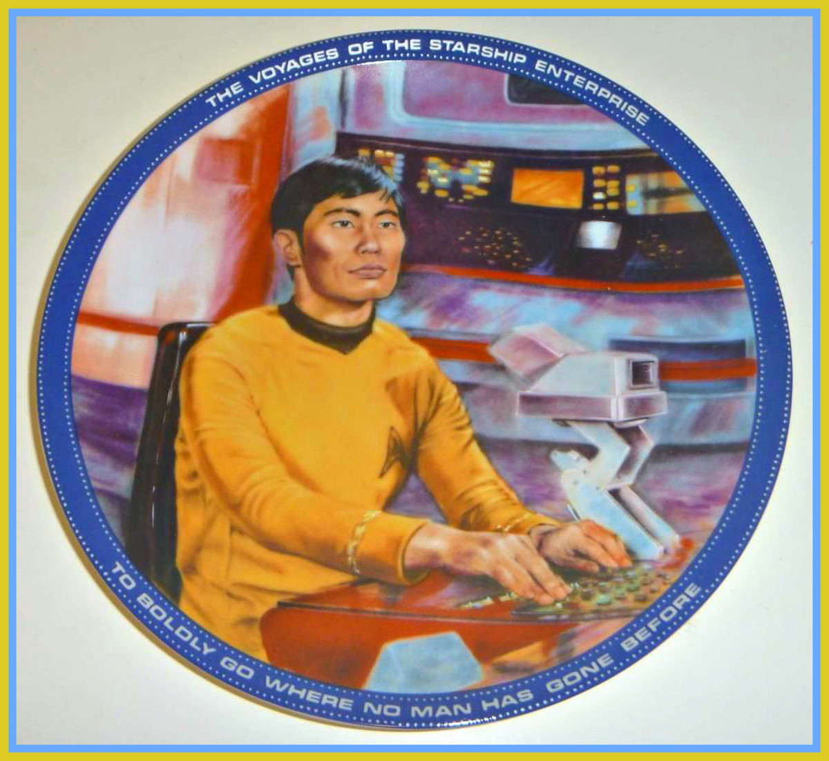 "Actor George Takei has long been fondly associated with the part of ""Sulu"" in the hearts and minds of Star Trek fans around the world."