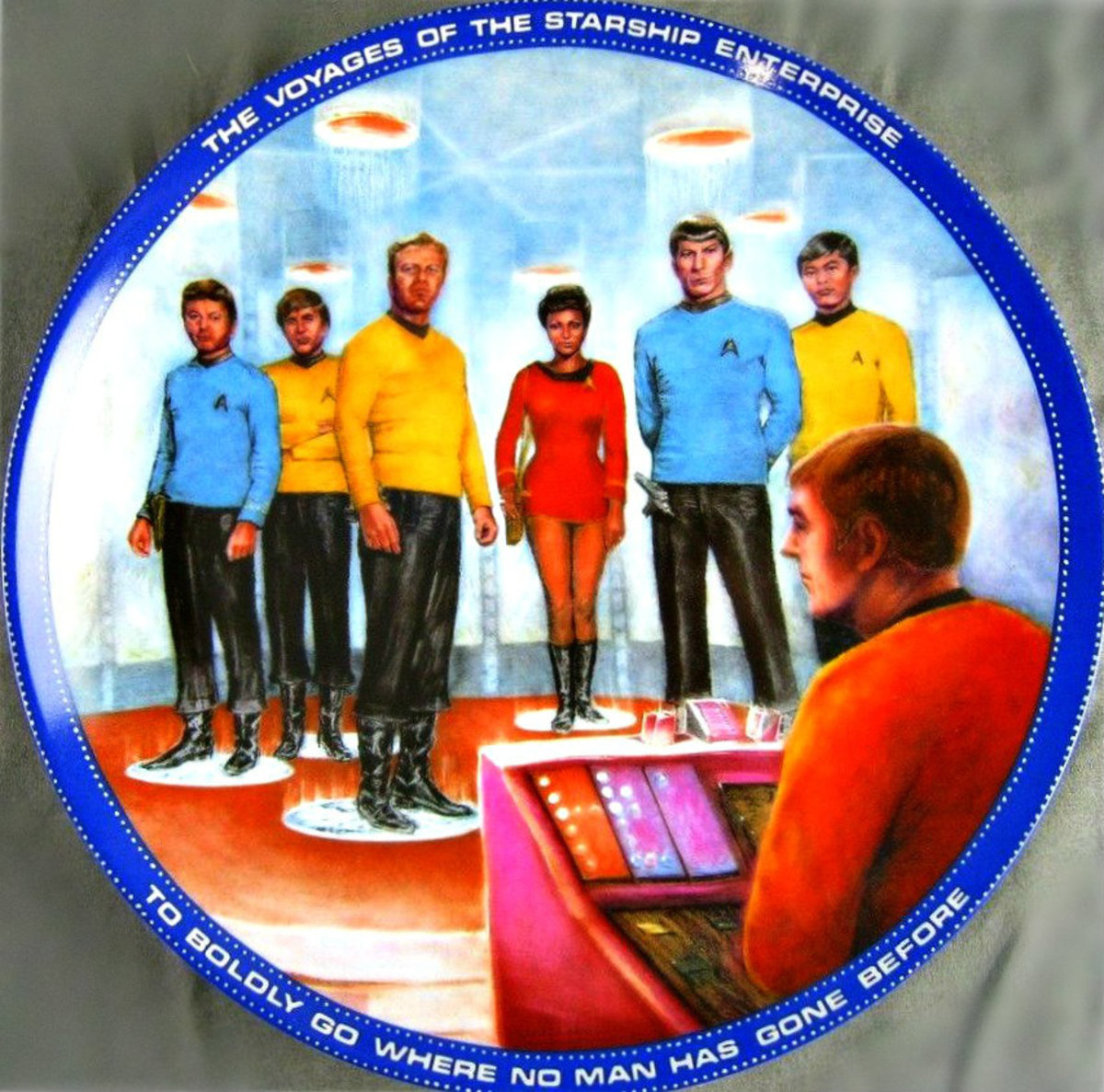 """One of the most frequently quoted expressions from """"Star Trek"""" is """"Beam me up, Scotty"""" - in which Starship Enterprise's futuristic equipment is used to transport crew members at lightning speeds."""