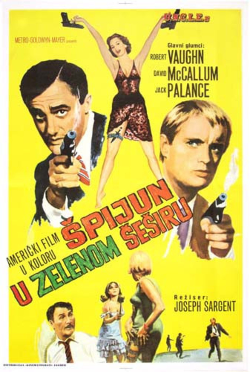 Turkish Man From U.N.C.L.E poster