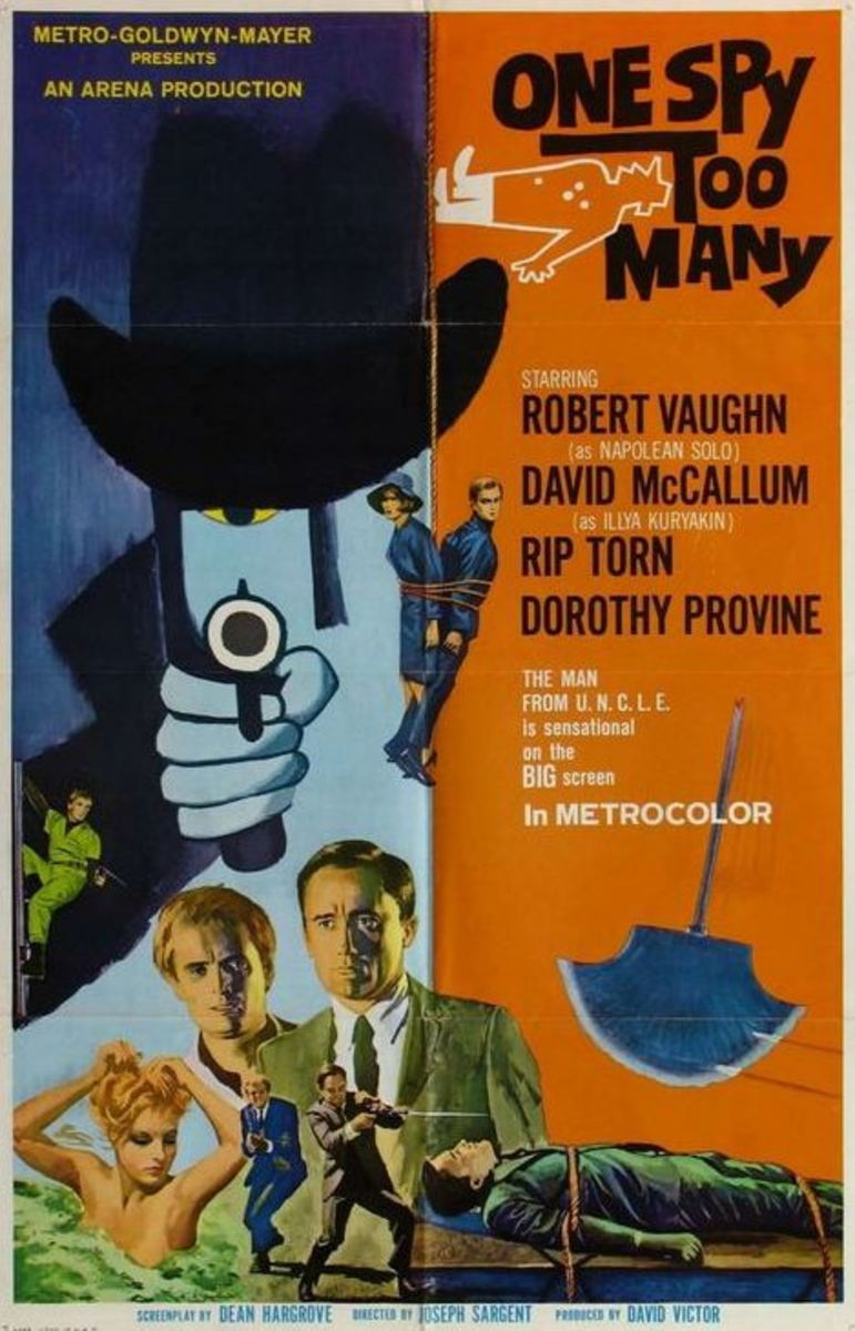 One Spy too Many (poster)
