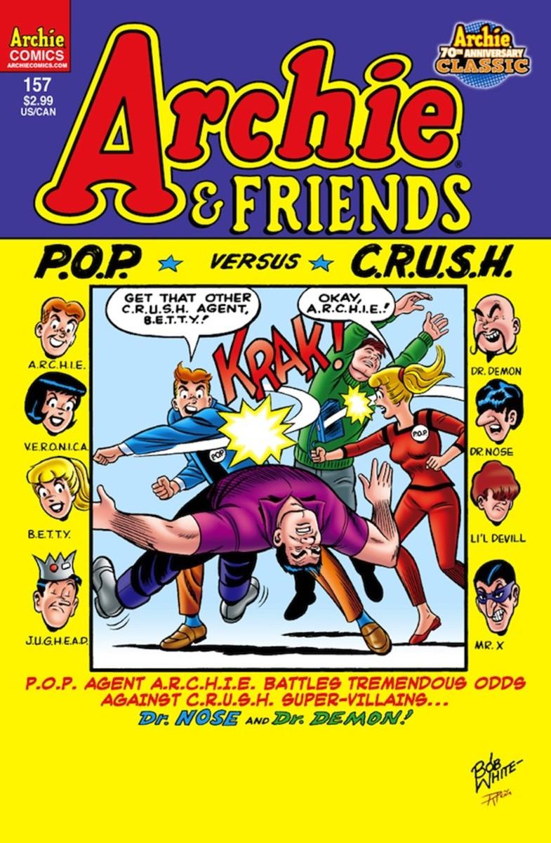 Archie Comics do an U.N.C.L.E tribute