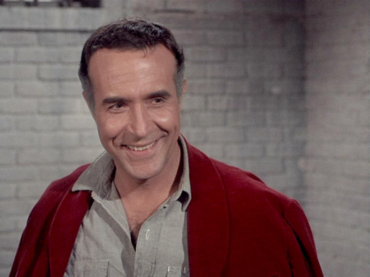 Ricardo Montalban  in The Dove Affair, The King of Diamonds Affair