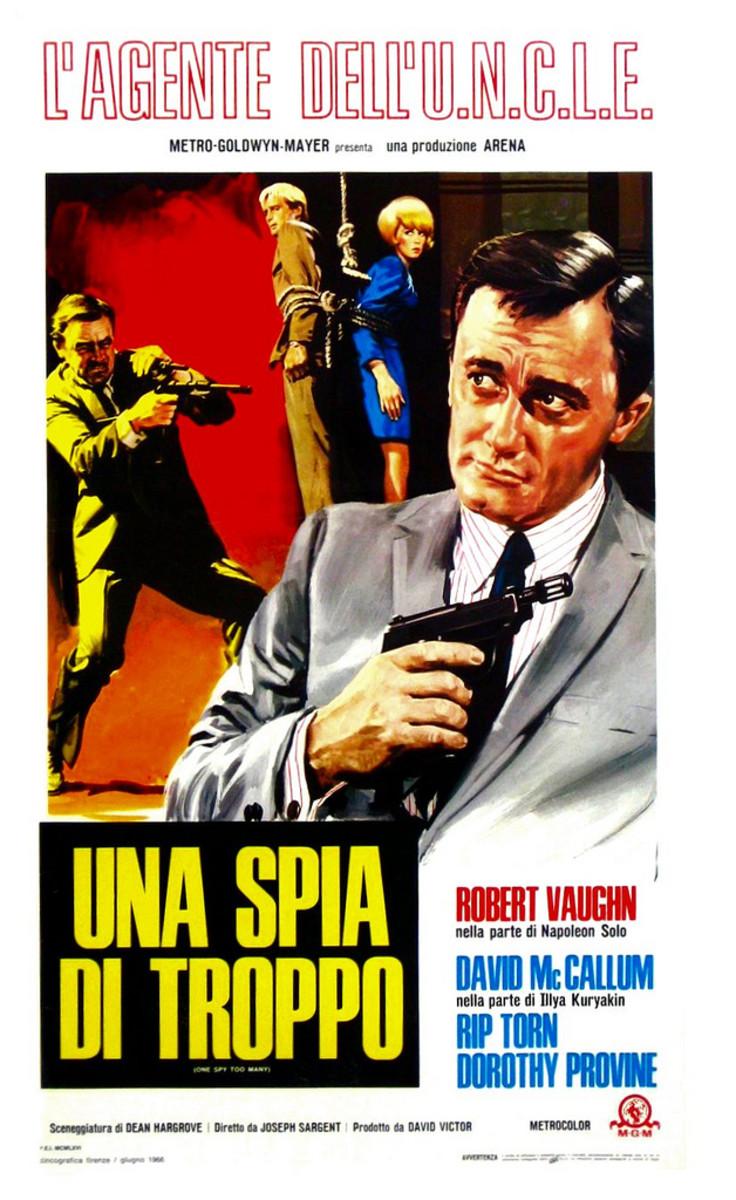 Italian Man From U.N.C.L.E poster