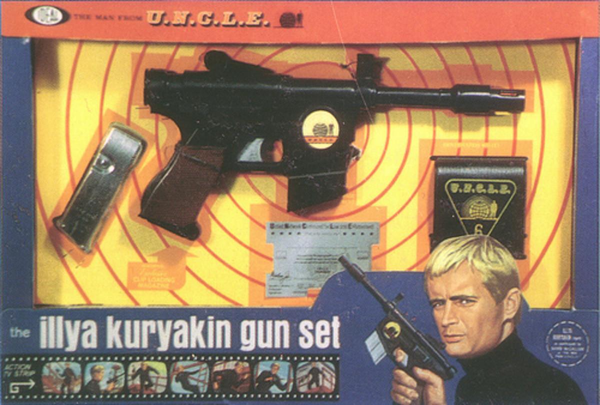 Ilya Kuryakin Gun set
