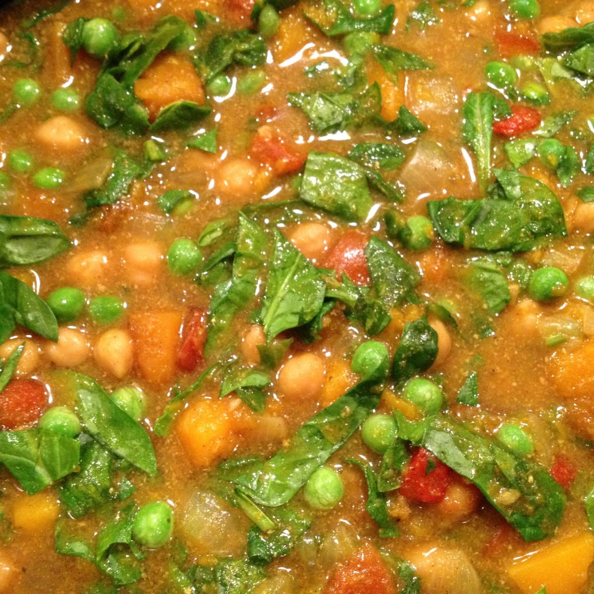 squash-chickpea-and-coconut-curry-recipe