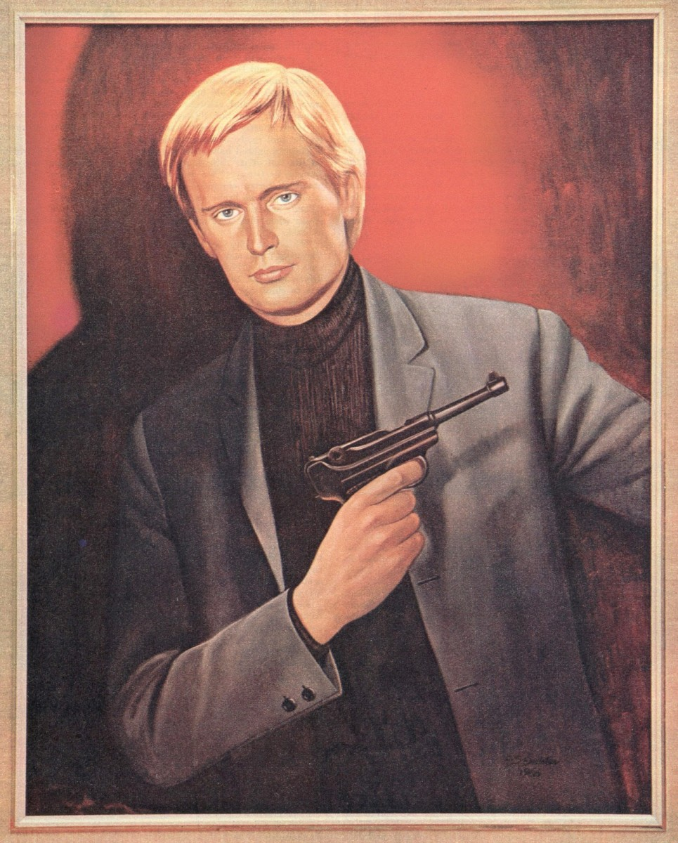 The painting of Ilya Kuryakin