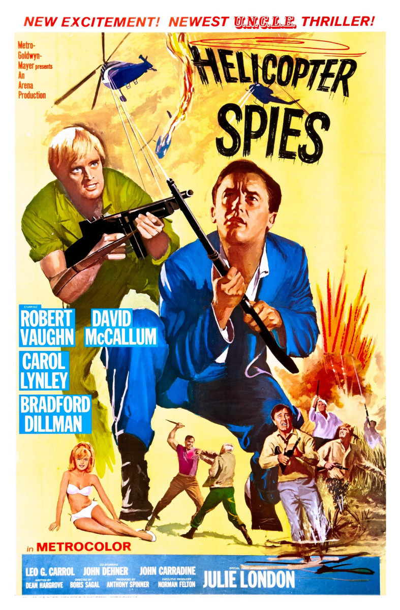 Helicopter Spies (poster)