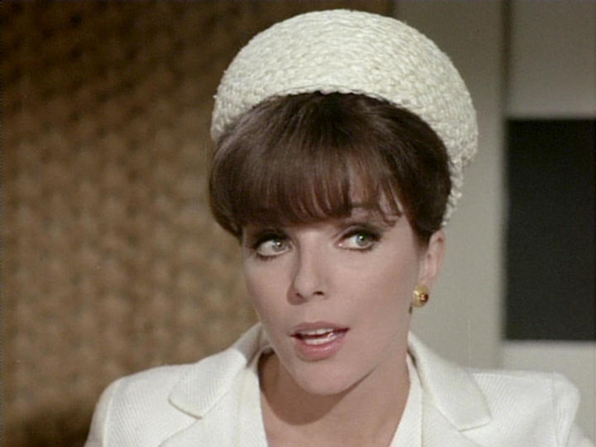 Joan Collins in The Galatea Affair