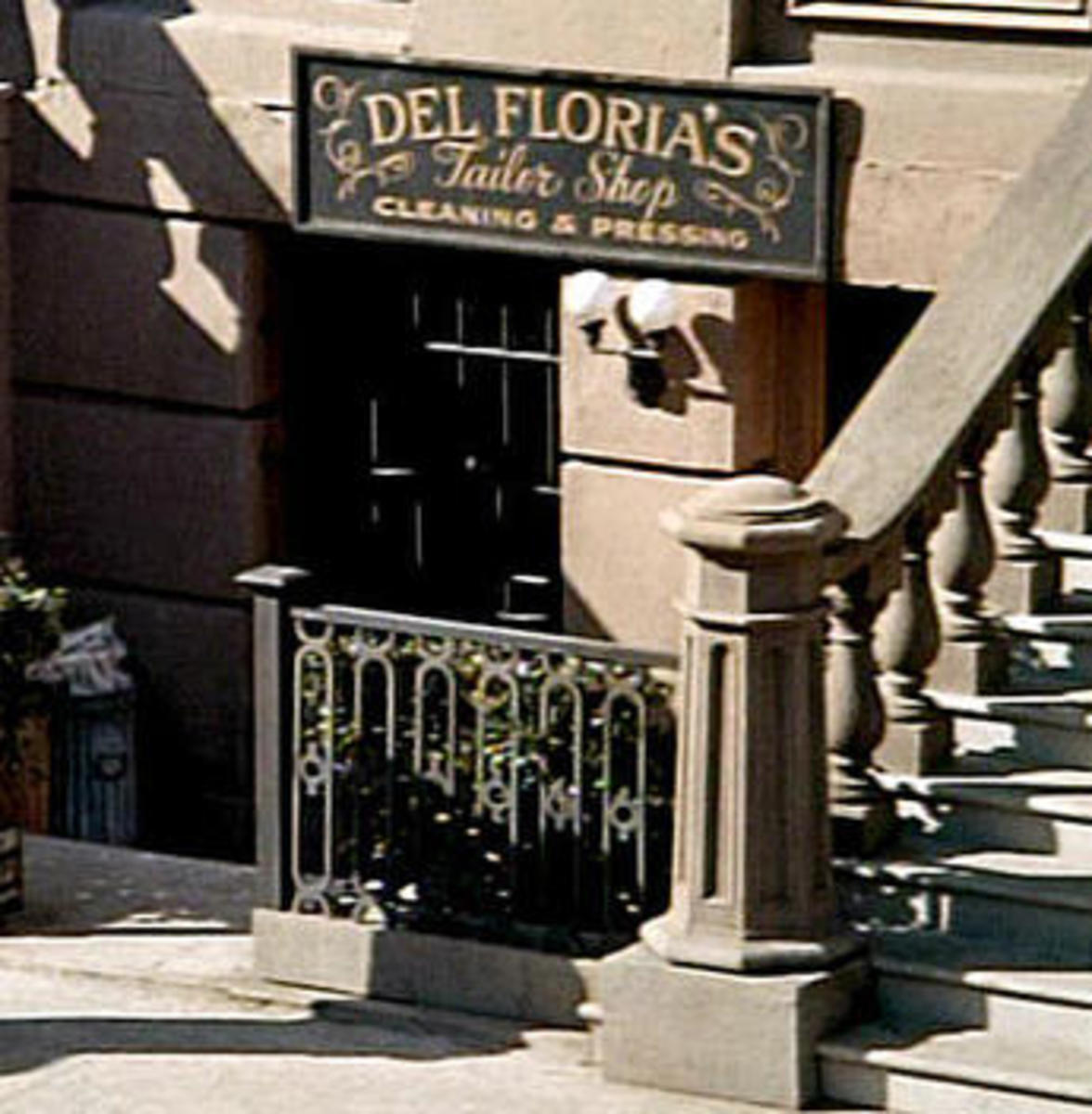 The Del Floria secret entrance in NY city