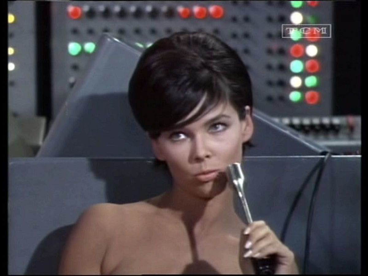 Yvonne Craig in The Brain Killers Affair