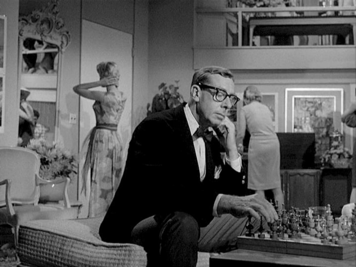 Cameo by executive producer Norman Felton as 'The Chess Player'
