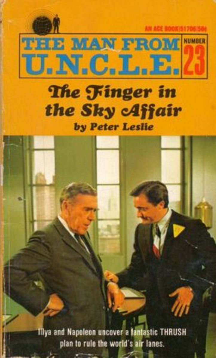 #23. The Finger in the Sky Affair