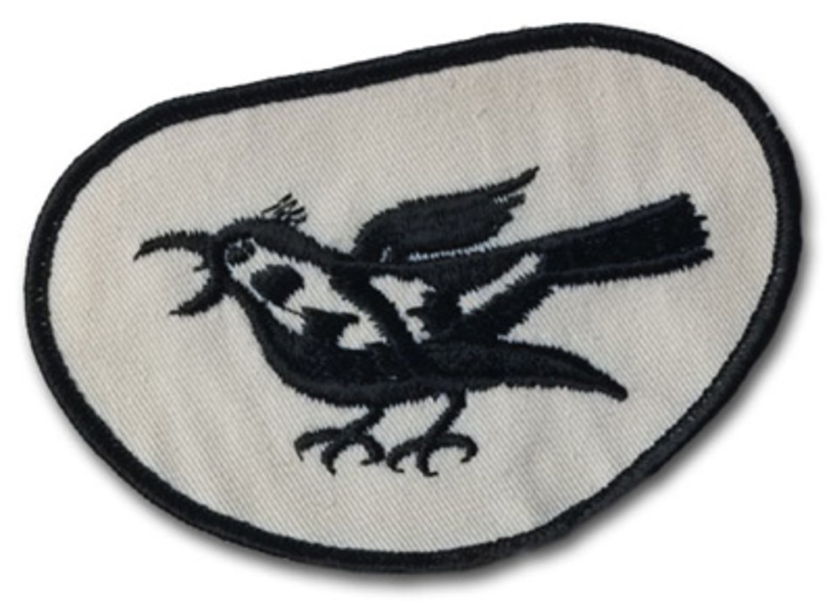 A THRUSH uniform patch