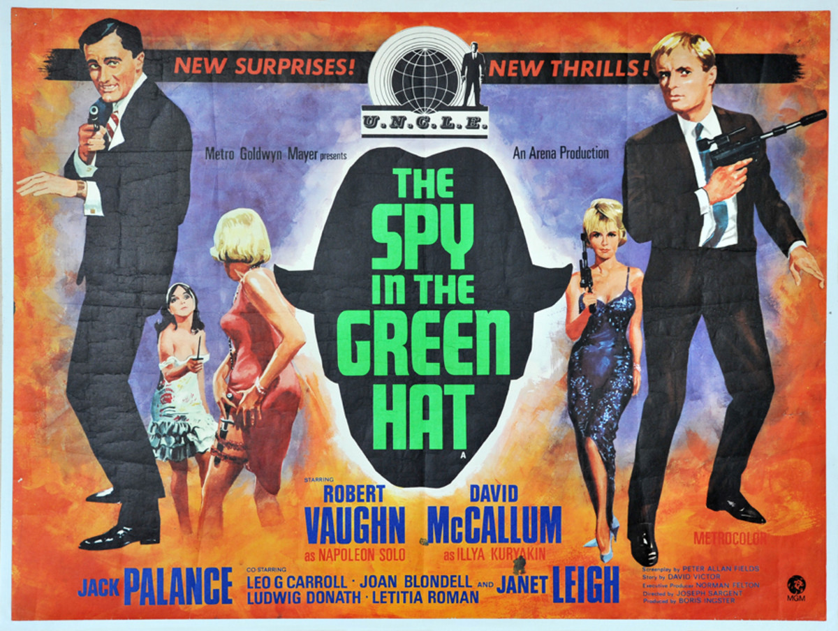 The Spy in a Green Hat ( poster)