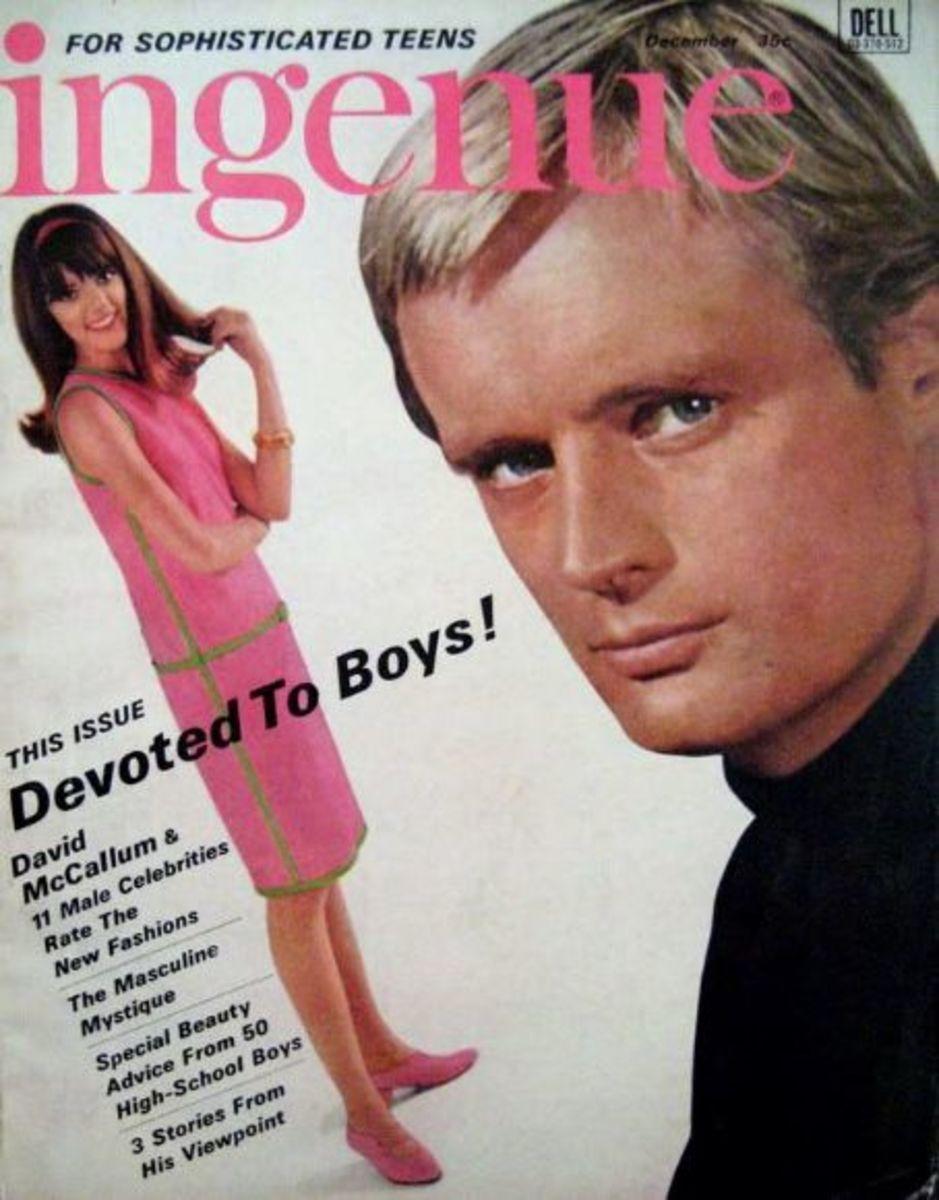 Teen magazine featuring a David McCallum cover