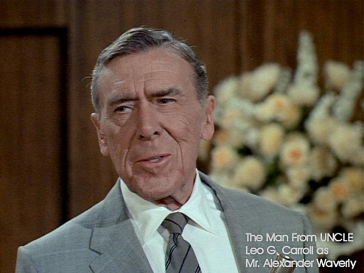 The great character actor Leo G Carroll