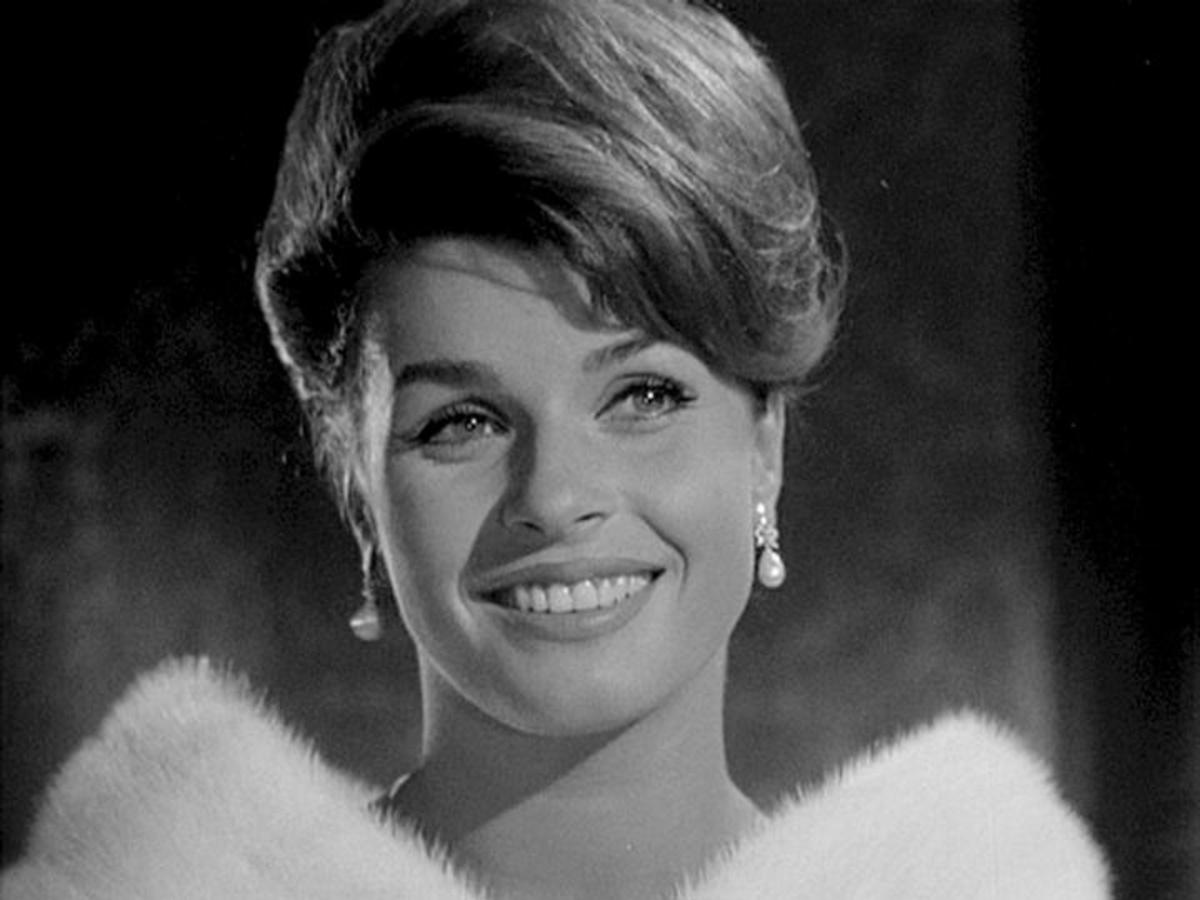 Senta Berger in The Double Affair