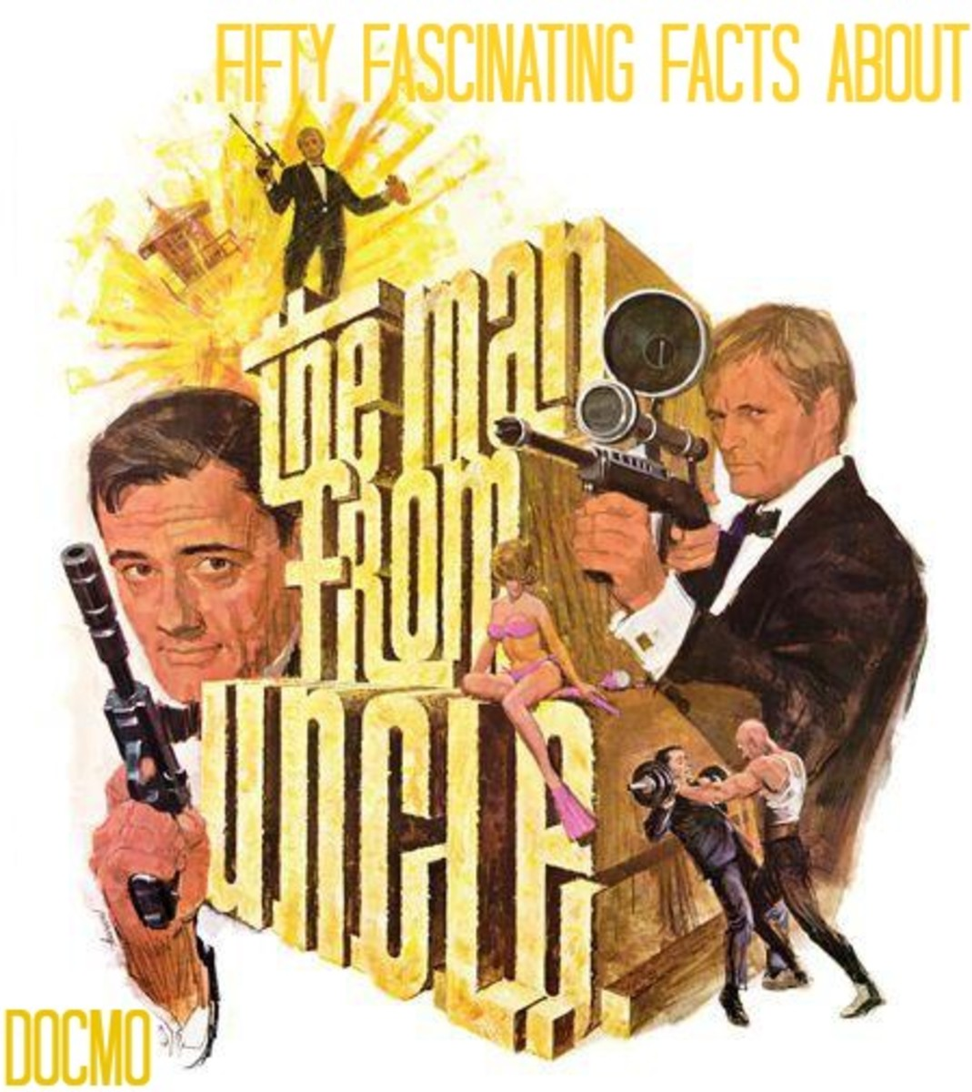 Fifty Fascinating Facts about The Man from U.N.C.L.E