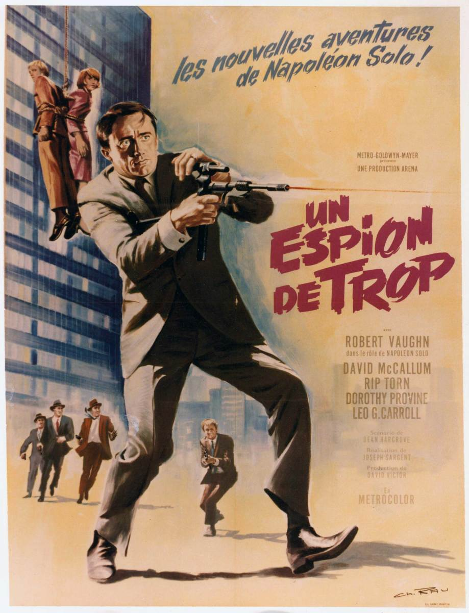 French Man From U.N.C.L.E poster