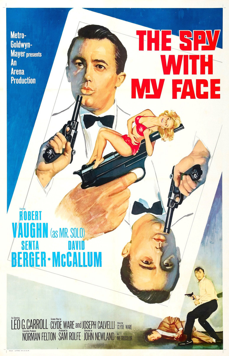 The Spy with my face (poster)