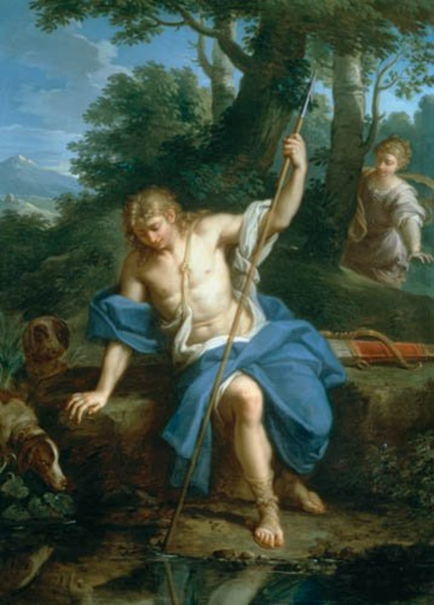 narcissus greek mythology story
