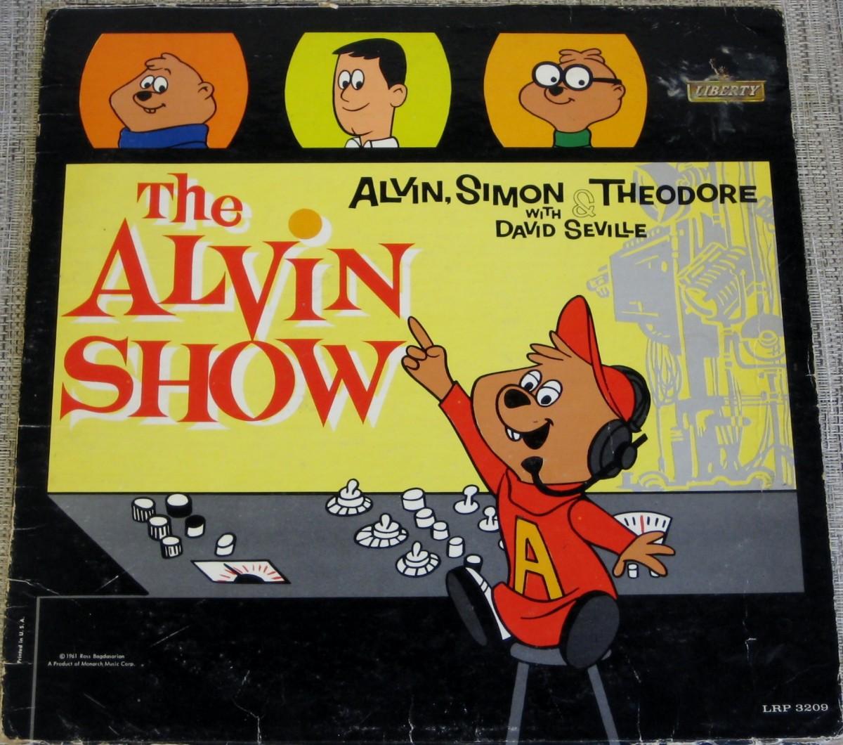 """""""The Alvin Show"""" record soundtrack, 1961"""