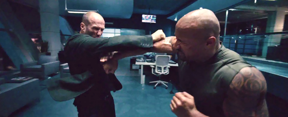 The Rock vs Jason Statham