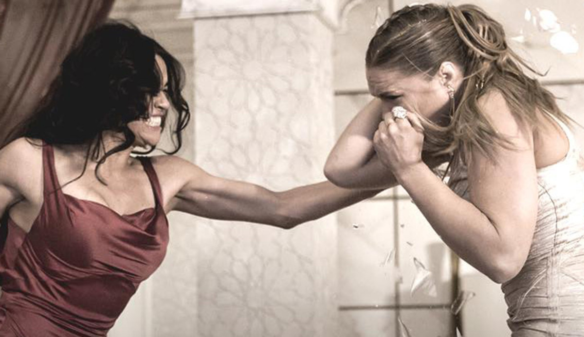 The ultimate cat fight:  Michelle Rodriguez vs. Ronda Rousey