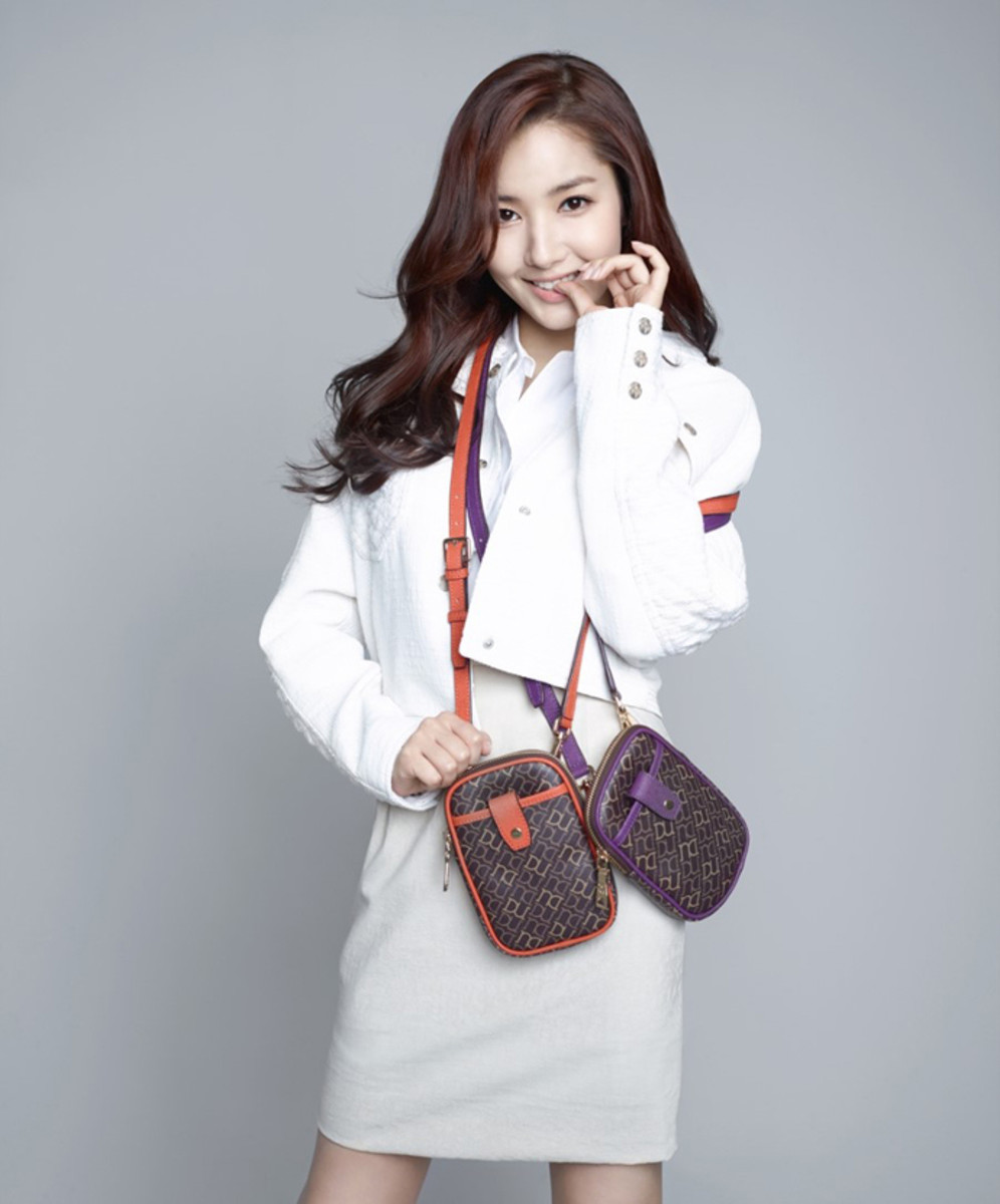 Park Min Young, modelling for Duani F/W 2014