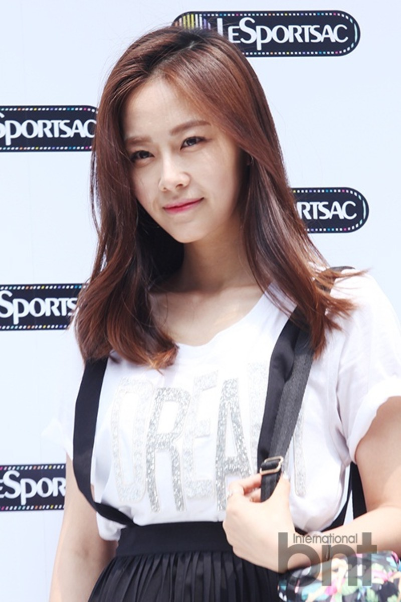 Hong Soo Hyun at LeSport Sac 40th Anniversary Pop-up Store Event, June 18, 2014.