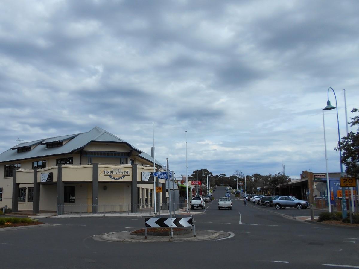Inverloch town centre.
